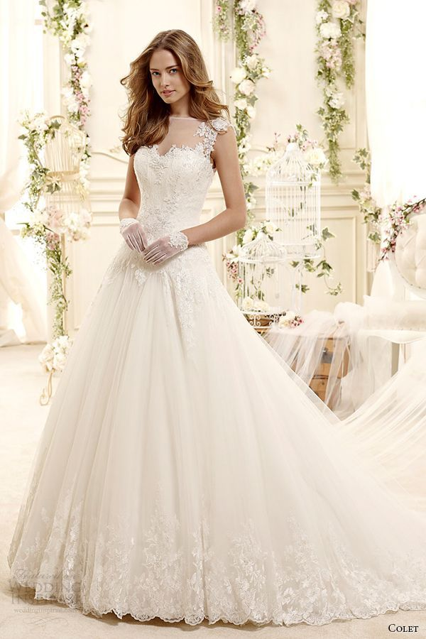 Cool Pink Ball Gown Wedding Dresses