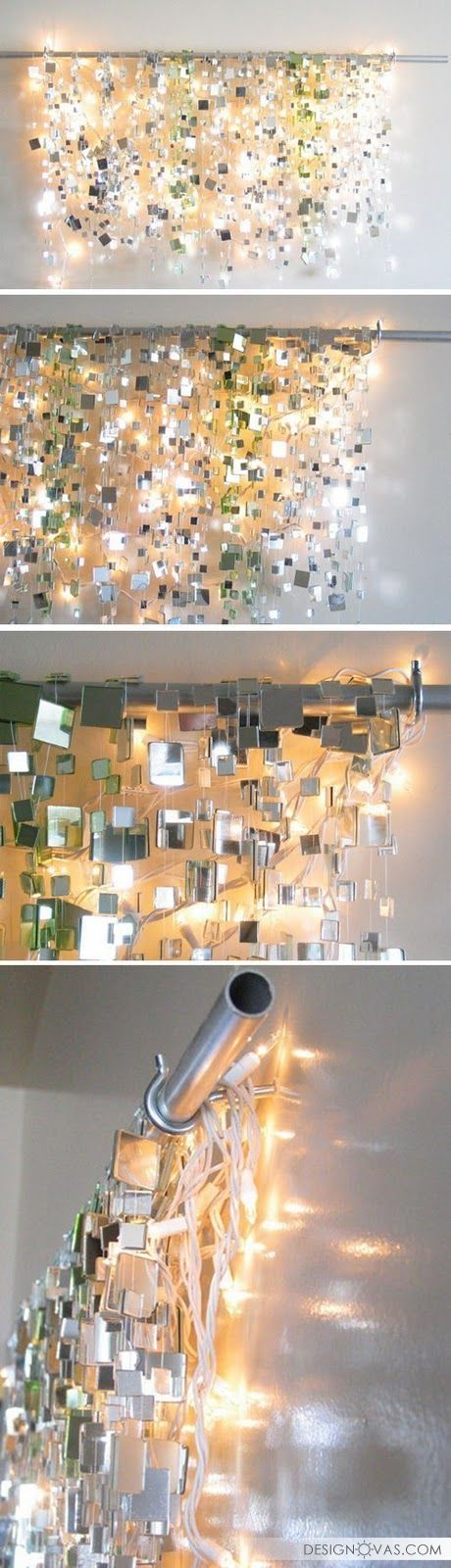 18 необычных способов украсить комнату с помощью зеркал |  #зеркало
