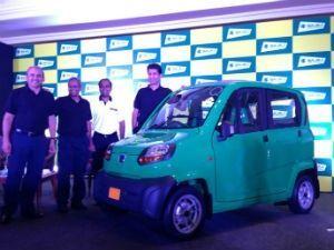 Bajaj Qute quadricycle unveiled