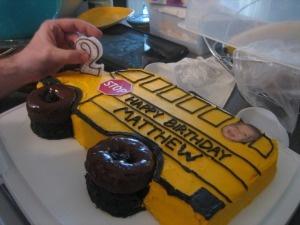 @Phillip Hennche Hennche burn 's birthday cake for next year!!