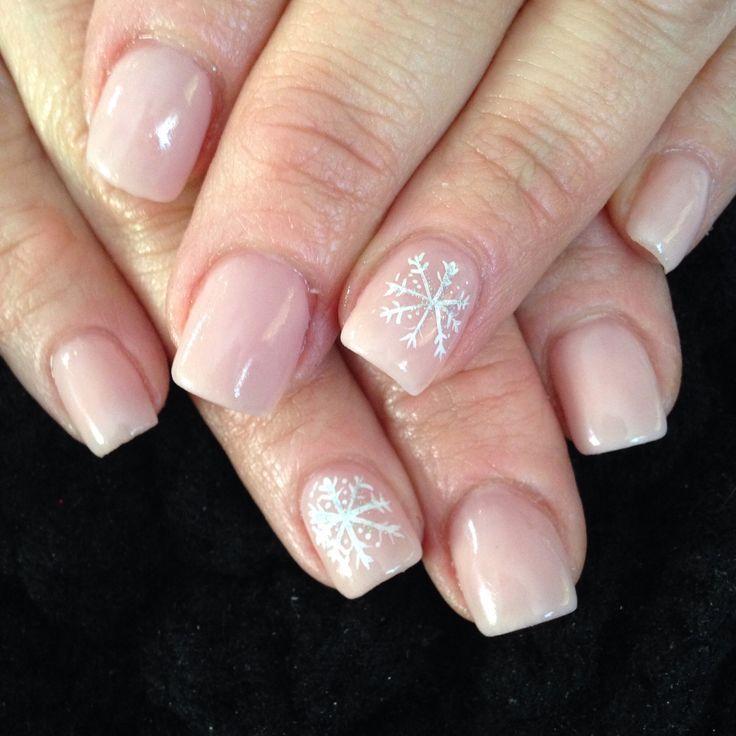 Snow nailsNails Art, Nails Design, Nail Art Designs, Christmas Nails, Acrylic Nails, Classy Christmas, Winter Nails, Snowflakes Nails, Diy Nails