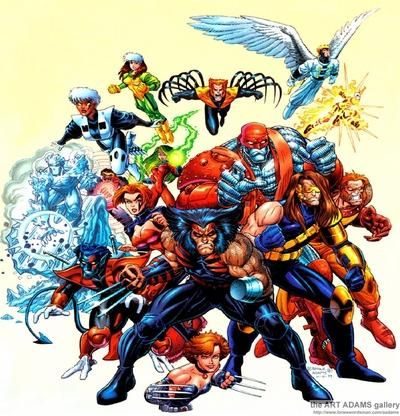 X-Men: Age of Apocalypse - with lead art by Joe Madureira - my favorite storyline in Marvel Comics.