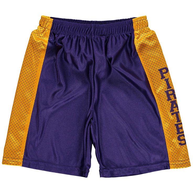East Carolina Pirates Youth Mesh Basketball Shorts - Purple - $29.99
