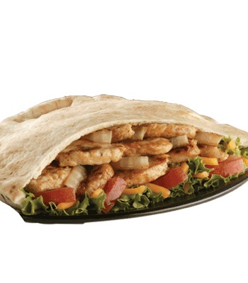 Chicken Fajita Pita and other diet-friendly choices at Jack in the Box