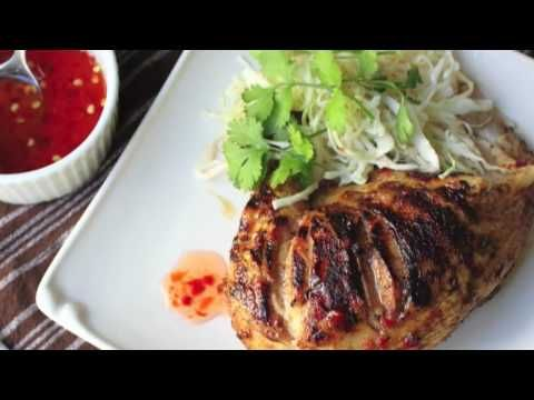 Excellent How-To Video: 5-Spice Grilled Chicken. Step by step Recipe from Chef John of Food Wishes at the Grill.