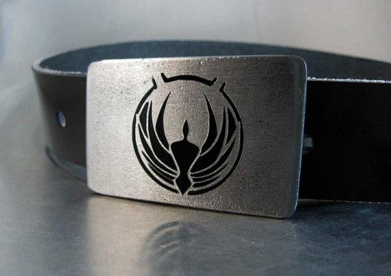 HOLY FRAK I WANT THIS!: Belts Buckles, Bsg Belts, Projet Bsg, Baltarstar Galactica, Geek Life, Battlestar Galactica, Galactica Belts, Bsg Battlestar, Geeky Stuff