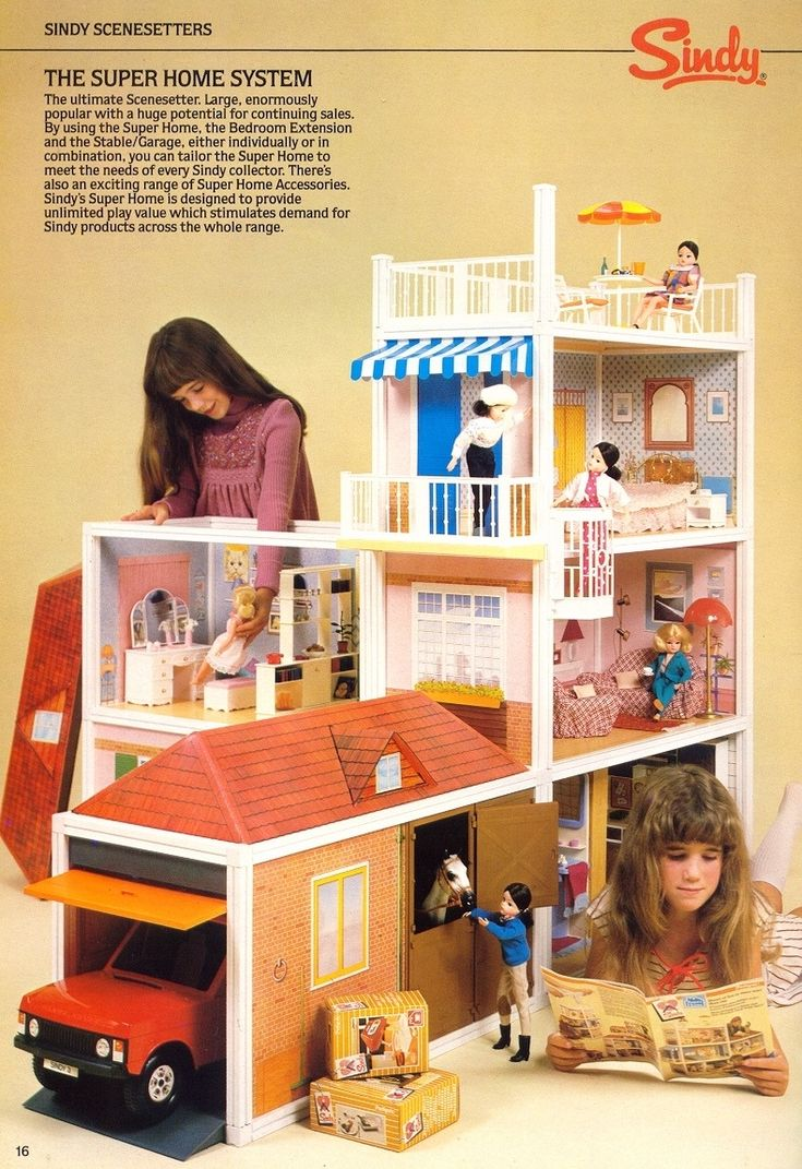 Perfect I Had Everything For My Sindy Doll Except Her Home