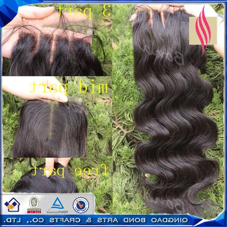 """54.59$  Watch here - http://alixnr.worldwells.pw/go.php?t=32500631165 - """"4*4 Lace Closure 8""""""""-26"""""""" Indian Virgin Human Hair Lace Closure Free Middle Three Part Way With Baby Hair In Front Lace Closure"""" 54.59$"""