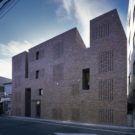 Кирпичный дом в Японии