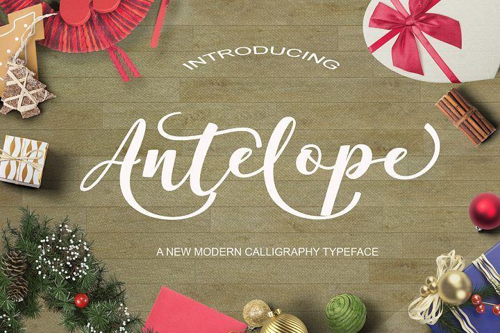 Antelope Script from FontBundles.net