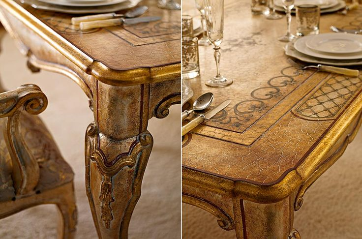 Table detail from Andrea Fanfani