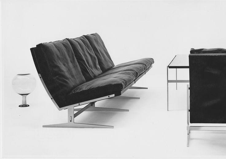 Timeless designs by Preben Fabricius & Jørgen Kastholm. #midcenturymodern