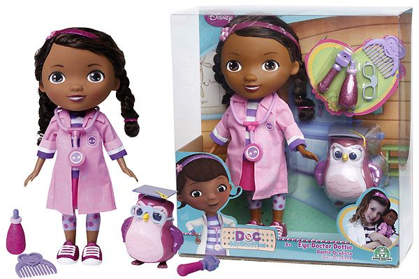 Доктор Плюшева. Кукла Дотти-окулист
