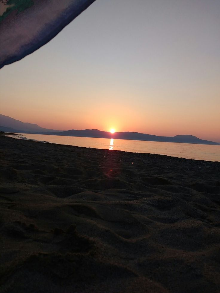 Sunset in Crete, Rethimno