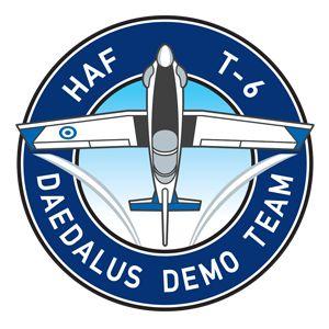 "HAF T-6A Texan II Demo Team ""Δαίδαλος"""