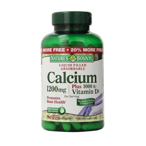 Nature's Bounty Calcium Plus Vitamin D