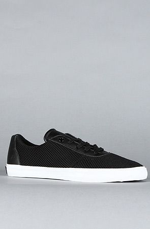 #Karmaloop The Cuttler #Low #Sneaker in #Black Action #Leather by #SUPRA  #Fashion  Use rep code:XLOOP for 20% off  Retail:$46.95