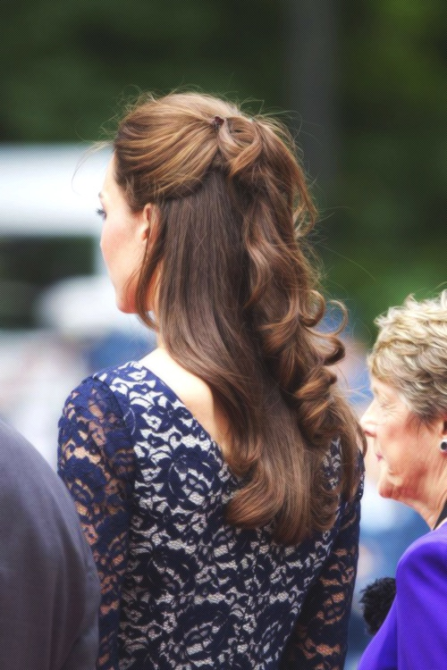 Kate Middleton hairstyle. Love this hairstyle!