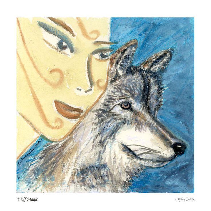 Cyber Week Sale! All Spirit Animal prints  25% off from Nov. 23 - Nov. 27 http://kathycrabbeartworks.etsy.com #kathycrabbeartwork #etsyfinds #etsygifts #handmade