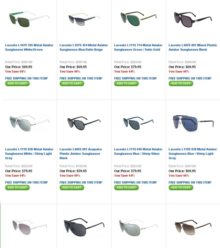 Lacoste Latest Fashion sunglasses...perfect beach wear ...awesome deals...  http://smbandhealthsydney.blogspot.com.au/2012/09/lacoste-new-inventory-lacoste.html: Fashion Sunglasses Perfect, Sunglasses Perfect Beaches, Stylish Sunglasses, Lacoste Latest, Lacoste Sunglasses