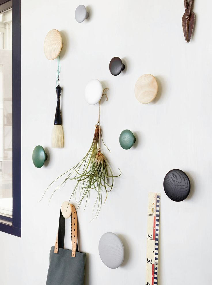 Besides being practical and functional, these Dot Coat Hooks from Muuto will add a fun, decorative element to any wall. Plus, you can arrange any kind of composition you want!