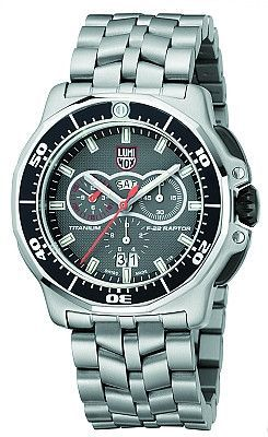 Luminox F-22 Raptor Chronograph Titanium Watch 9282
