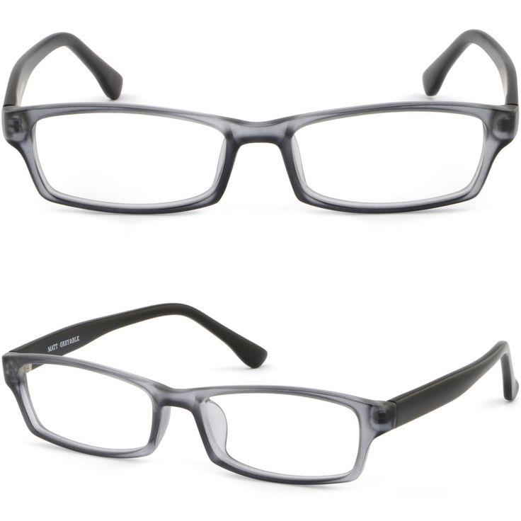 ANNE GLASSES Men\'s Eyeglass Frames Half Rim Large Size Frame Eyewear ...