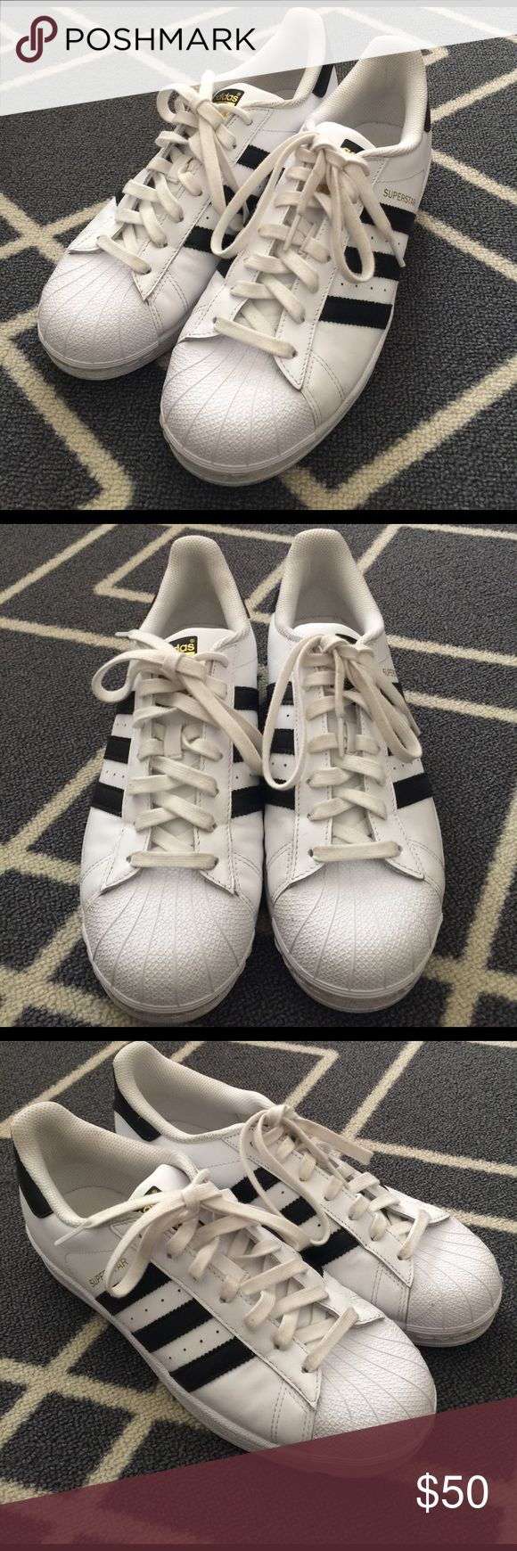 Adidas Super Star Women Size 9❌Trade Adidas Shoes Sneakers