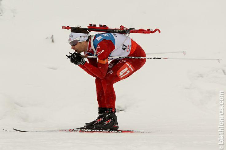 Ole Einar Bjørndalen, sprint, Hochfilzen, 6.12.2013