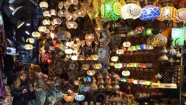 Get lost amongst it: The Grand Bazaar.