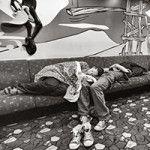 Stefano Pia :: IL TEMPO SOSPESO 1992-2015 gli onesti naviganti tra isola e continente :: mostra fotografica :: Ottagono delle Murate Firenze 2015 :: Stampa su Breathing Color Luster su Dibond