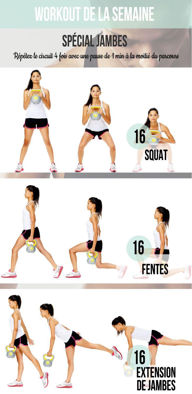 workout spécial jambes                                                                                                                                                     Plus
