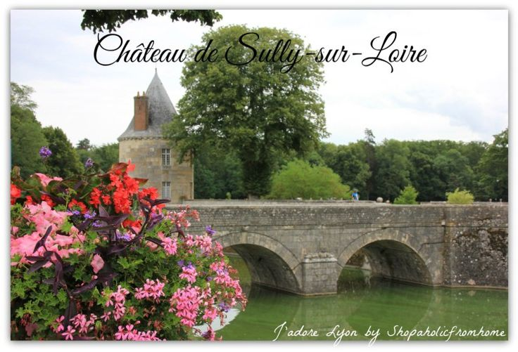 Château de #Sully-sur-Loire #LoireVallee #Chateaux #France #Holidays #royalcastles #jadorelyon The best photos from my dreamt #French holidays in France