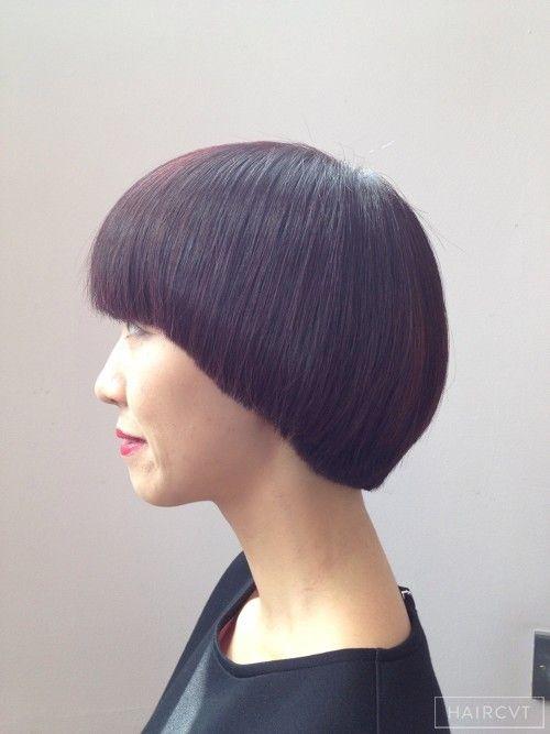 Women Short Geometric Hairstyle
