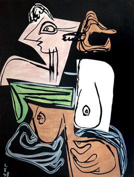 """le corbusier - from the book """"Poème de l'Angle droit"""". Ed. Tériade"""