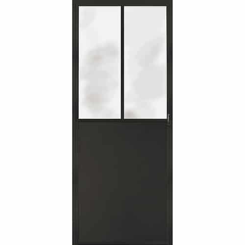 Sticker Pour Porte Représentant Une Porte Verrière D Atelier