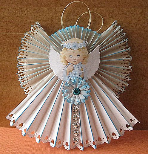 Christmas Crafts Paper Angels : Best images about christmas ornaments decorations on