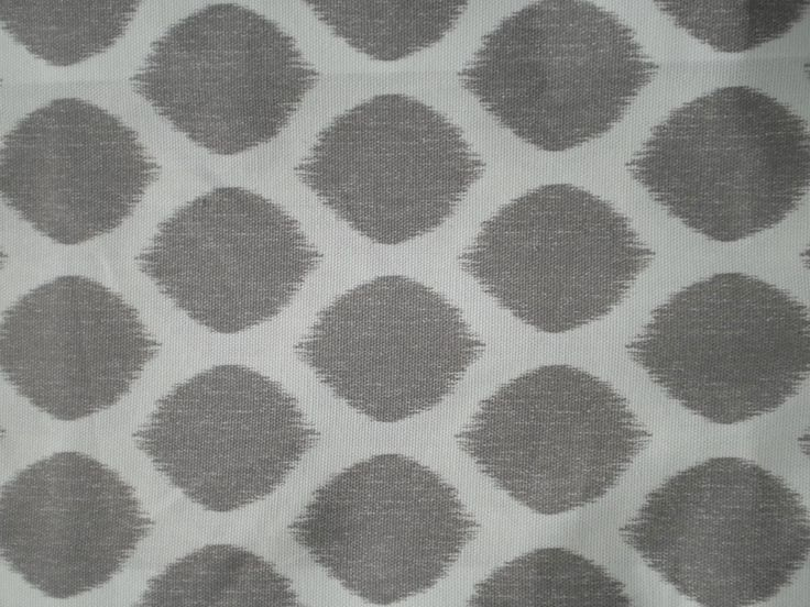 Grey Spotty Print Cotton Fabric   Cotton Fabric  Suitable for curtains and upholstery