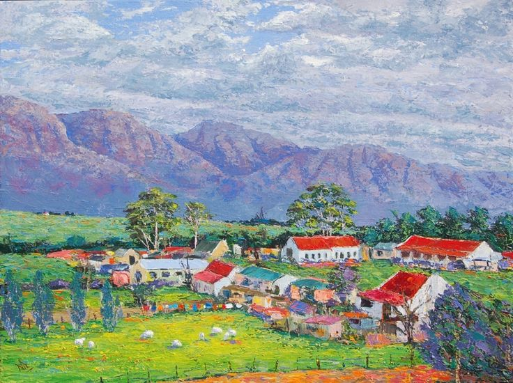 Middleton. Acrylics on stretched canvas. 460X610mm. R1400.