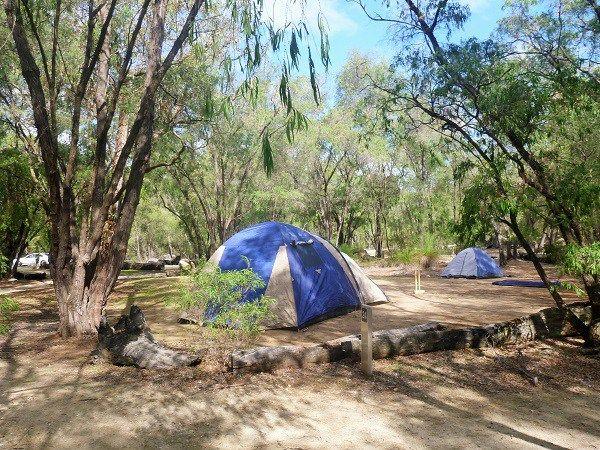 Camping at Martins Tank