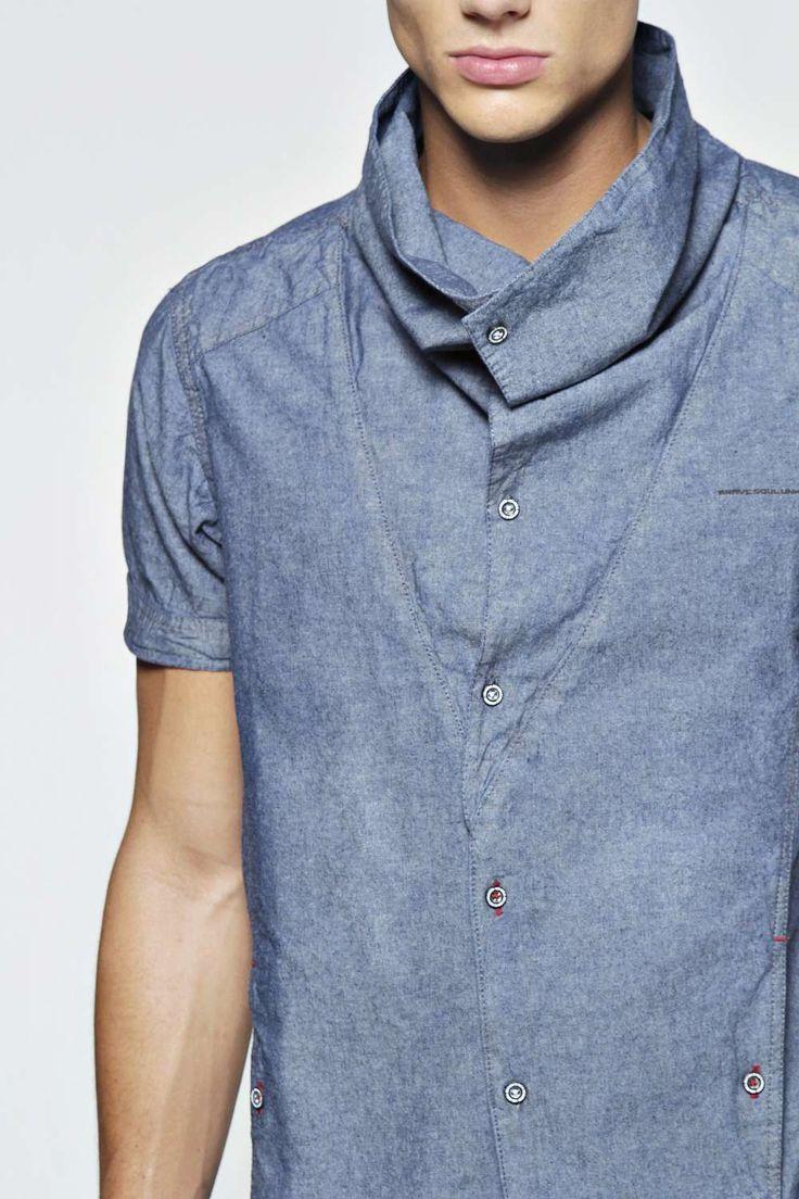 Cowl Neck Shirt alternative image