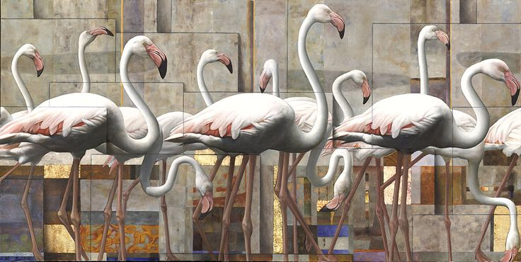 Sergio Cerchi - Flamingos III
