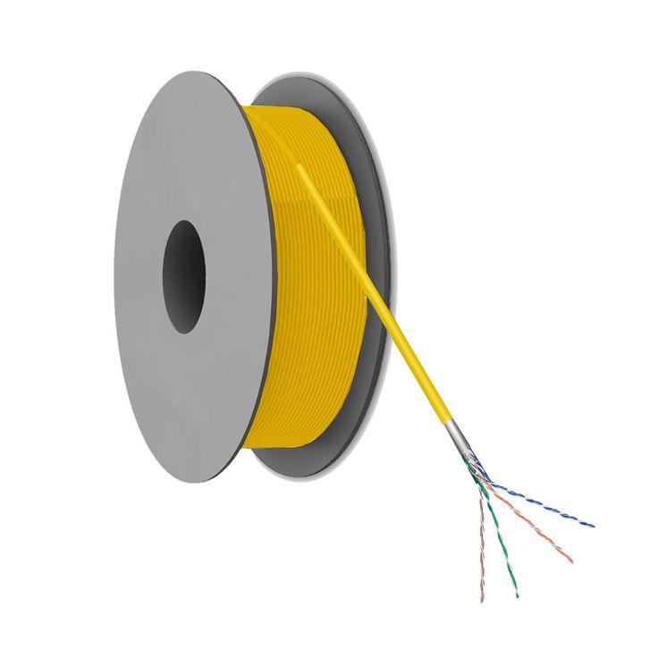 CAT 5E F/UTP Netwerkkabel op rol - 100 meter