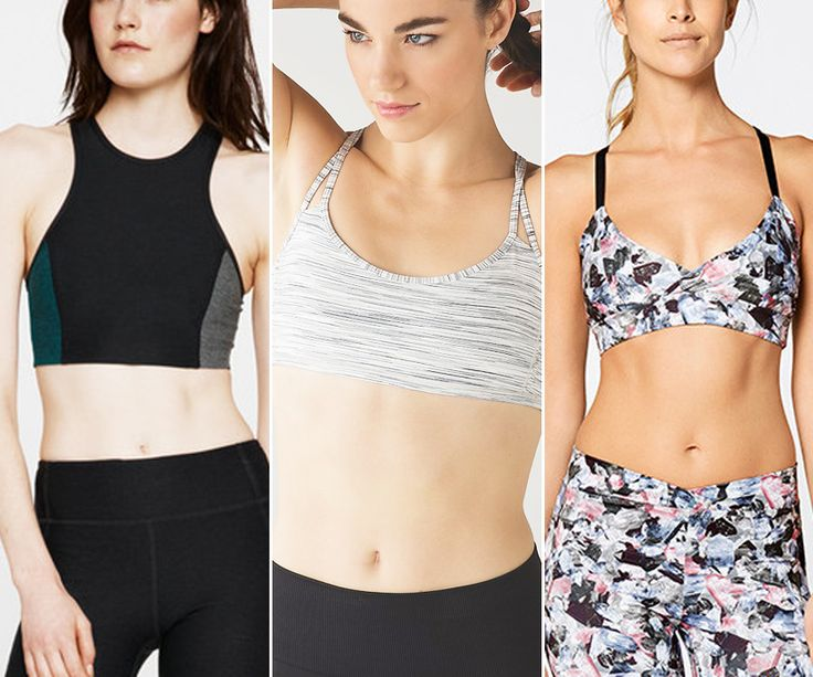 Shop the best sport bras for petites.