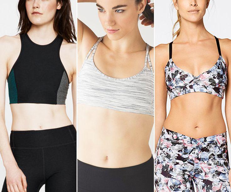 Shop the best sport bras for petites.