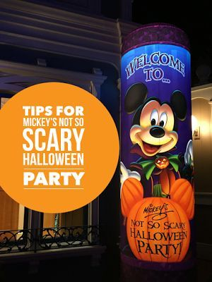 VIP Tips For Mickey's Not-So-Scary Halloween Party at Walt Disney World