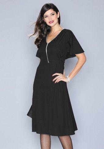 Elegantné šaty s kamienkami #ModinoSK