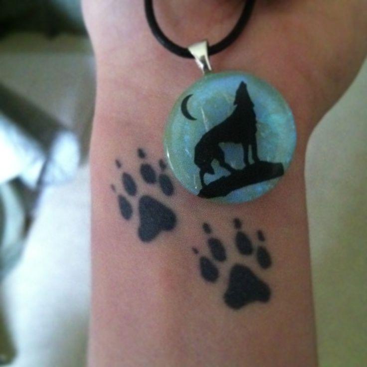 Pin Wolf Paw Tattoo on Pinterest