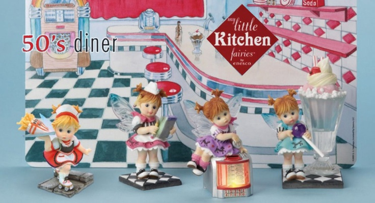 50's diner kitchen fairy.. I want them, they're so cute!