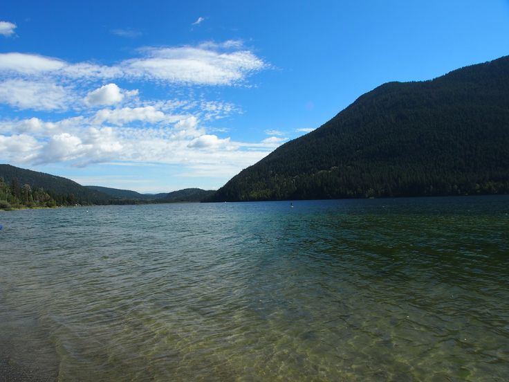 Paul Lake, Kamloops, BC, Canada September 2013